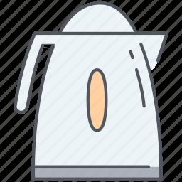appliance, boiler, instant, kettle, kitchen, tea, water icon