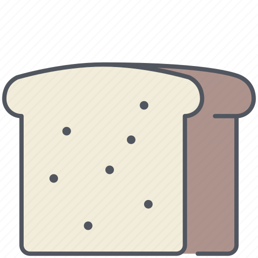 bread, food, kitchen, loaf, lunch, meal, wheat icon