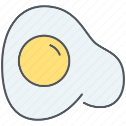 breakfast, egg, english, food, fried, fried egg, kitchen icon