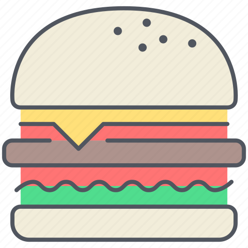burger, fast food, food, hamburger, junk food, kitchen, macdonalds icon