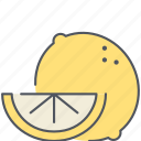 citrus, food, fruit, healthy, kitchen, lemon, organic icon