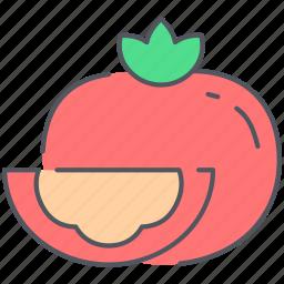 food, healthy, kitchen, organic, tomato, vegan, vegetable icon