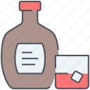 alcohol, brandy, cognac, drink, liquor, rum, whiskey icon