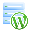 hosting, server, web, wordpress, wp icon
