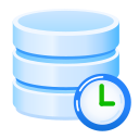 backup, backups, daily, data, database, scheduled icon