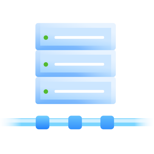 connections, server, vps icon