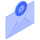 @, email, envelope, letter icon