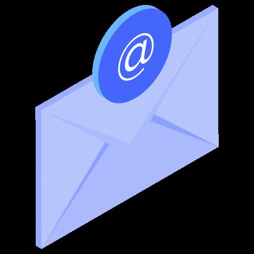@, email, envelope, letter icon
