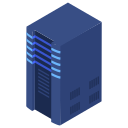 center, data, server icon