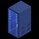 rack, server, center, data