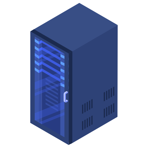 Rack, server, center, data icon - Free download