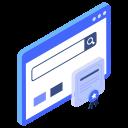 navigation bar, web browser