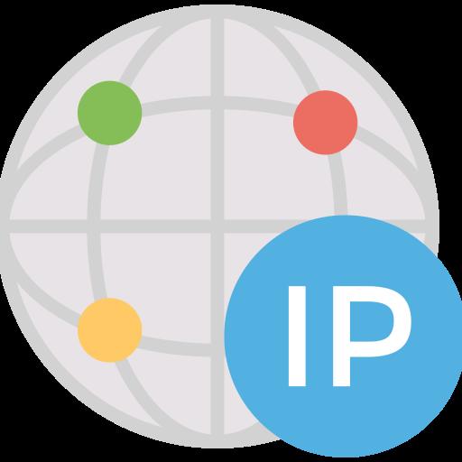 Address, dedicated, globe, ip icon - Free download