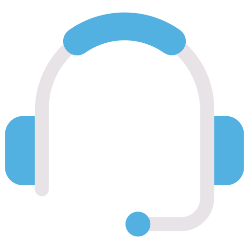 headset, support icon