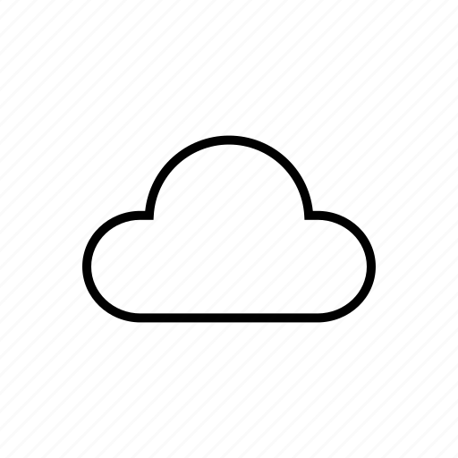 Cloud, wheather, cloudy, weather icon - Download on Iconfinder