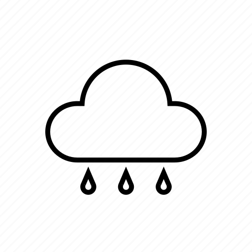 Cloud, rain, weather, cloudy icon - Download on Iconfinder