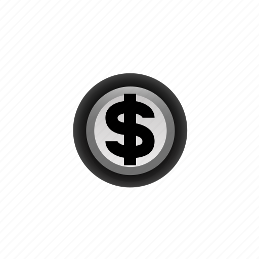 $, cash, coin, currency, money, navigation, off icon