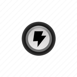buttons, energy, navigation, off, pushbutton, ui icon