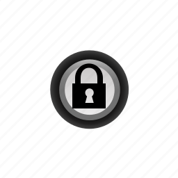 buttons, lock, navigation, off, pushbutton, ui icon