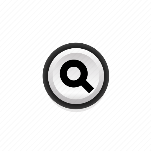 look for, loupe, magnifier, navigation, on, search, seek icon