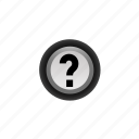 ?, mark, navigation, off, question, unknown icon