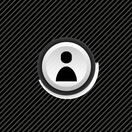 avatar, human, man, men, navigation, on, person icon