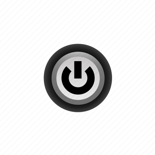 Buttons, navigation, off, power, pushbutton, ui icon - Download on Iconfinder