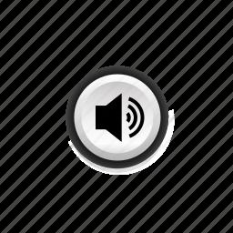melody, music, navigation, on, signal, sound, speech icon