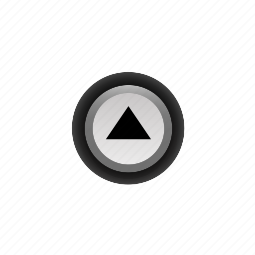 Arrow, buttons, navigation, off, pushbutton, ui, up icon - Download on Iconfinder