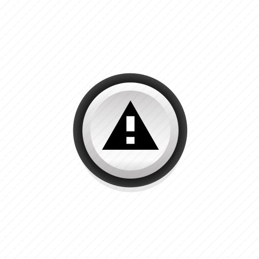 attention, caution, look-out, navigation, note, on, warning icon