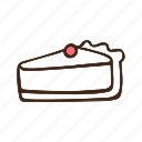 bakery, cooking, dessert, food, pastry, pie, sweet icon