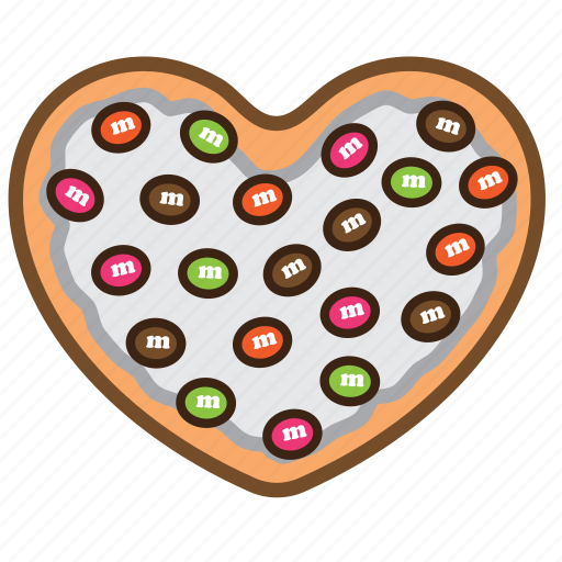 Cookie, frost, pastrie, sugar, topping, white icon - Download on Iconfinder