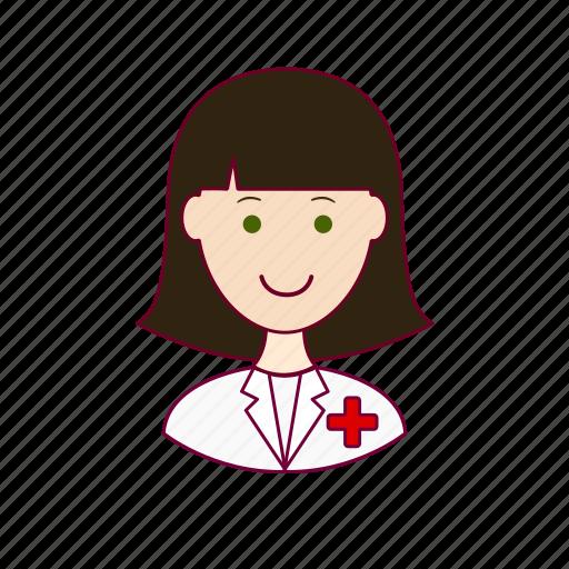 Emprego, enfermeira, job, mulher, nurse, professions, trabalho icon - Download on Iconfinder