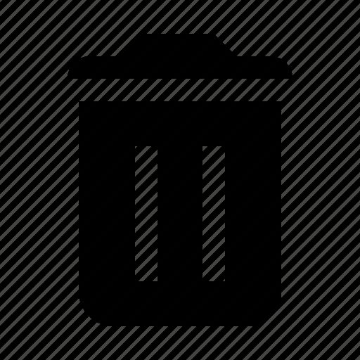 delete, recyle, remove, trash icon