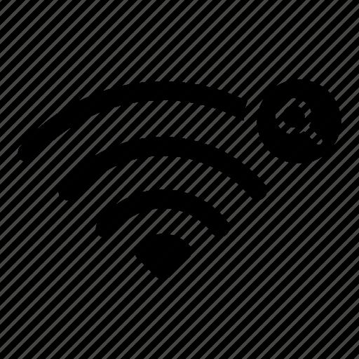 broadcast, find, internet, search, signal, wifi, wireless icon