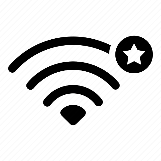 connect, device, favorites, internet, signal, wifi, wireless icon