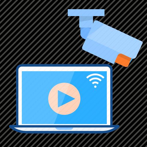 camera, cctv, wifi, wireless icon
