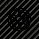 west, wheel, wild icon