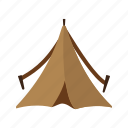camp, camping, night, outdoor, shelter, tent, wild icon