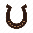equipment, farm, horse, horseshoe, shape, steel icon