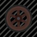 wheel, wooden, west, travel, cart, western, wild