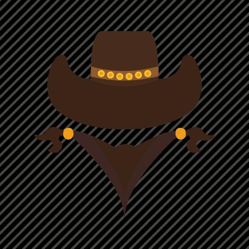 bandit, burglar, cowboy, hat, thief, west, western icon