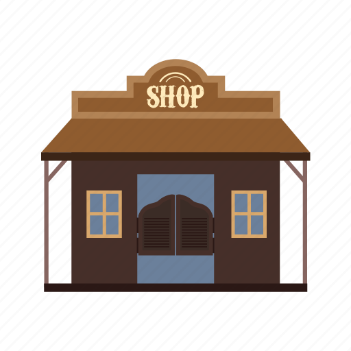 blacksmith, shop, store, town, west, western, wild icon