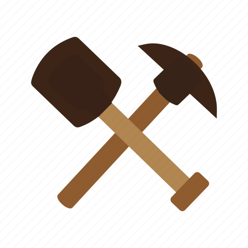 axe, metal, spade, tool, tools, wild, work icon
