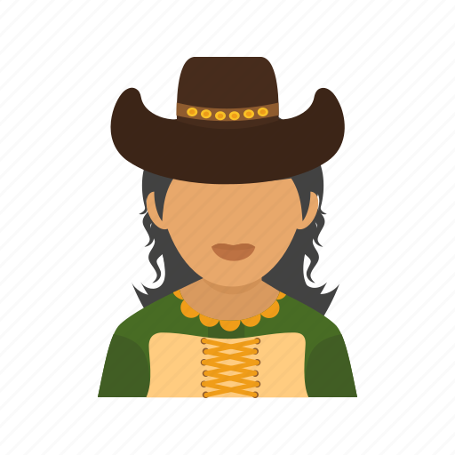 cowgirl, hat, model, west, western, wild, woman icon