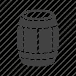 barrel, beer, rolling, west, western, wild, wooden icon