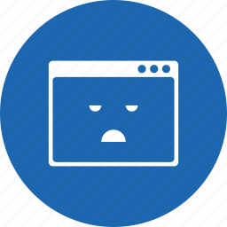 application, bored, design, layout, smiley, webpage, window icon