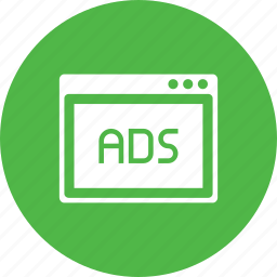 ads, advertiesment, design, layout, popup, webpage, window icon