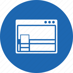cover page, design, facebook, layout, web, window, wireframe icon