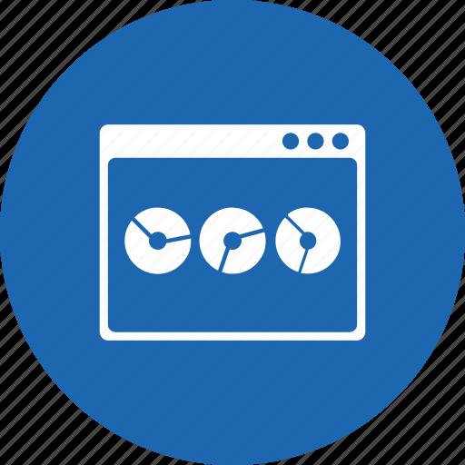analysis, graph, layout, performance, statics, webpage, window icon